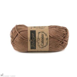 Fil de coton Catona 50 Brun Hazelnut 503
