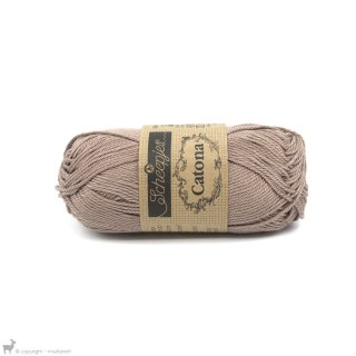 Fil de coton Catona 50 Brun Caramel 506
