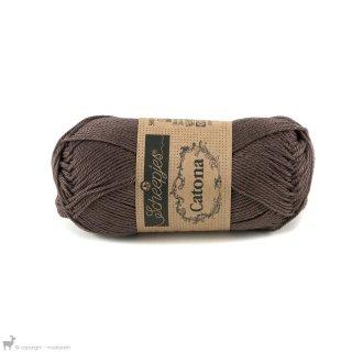 Fil de coton Catona 50 Brun Chocolate 507