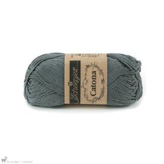 Fil de coton Catona 50 Gris Metal Grey 242