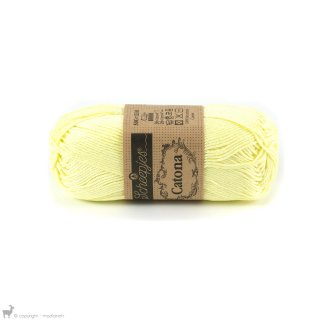 Fil de coton Catona 50 Jaune Lemon Chiffon 100