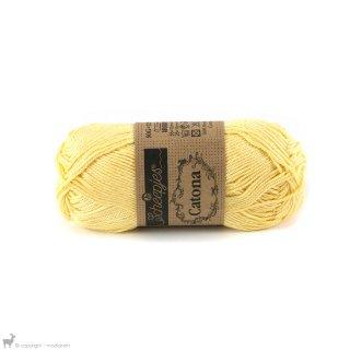 Fil de coton Catona 50 Jaune Primrose 522
