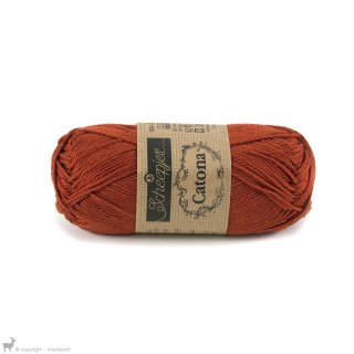 Fil de coton Catona 50 Orange Rust 388