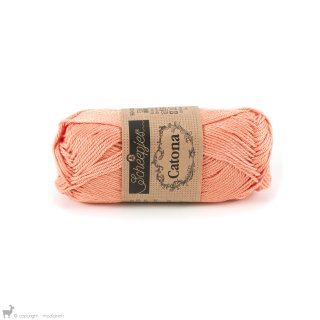 Fil de coton Catona 50 Orange Apricot 524