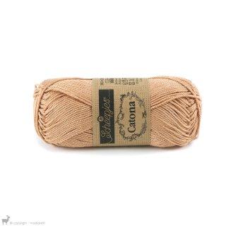 Fil de coton Catona 50 Brun Camel 502