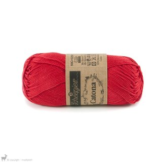 Fil de coton Catona 50 Hot Red 115