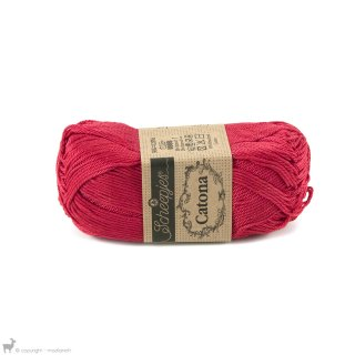 Fil de coton Catona 50 Rouge Candy Apple 516