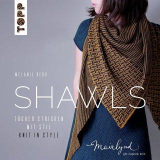 Catalogues Livre tricot Shawls par Melanie Berg