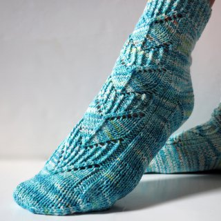Kit Chaussettes Safran Sea Goddess Speckle - Madlaine