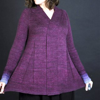 Modèle Cardigan Moonlight Dancer par Elise Dupont - Madlaine