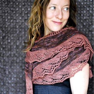 Châles Modèle Châle Merlot par Elise Dupont