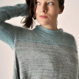 Modèle Pullover Cloud Escape par Elise Dupont - Madlaine