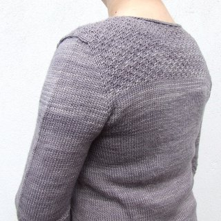 Pull femme Modèle pullover Grand Crocus par Hel et Zel