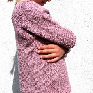 Pull enfant Modèle pullover Petit Crocus par Hel et Zel