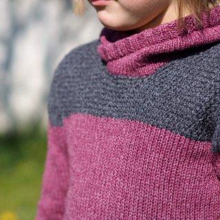 Modèle pullover Petit Passiflore par Hel et Zel - Madlaine