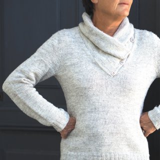 Modèle pullover Campanule par Hel et Zel - Madlaine