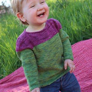 Modèle Pullover Mini Bicolore par Instants de Louise - Madlaine