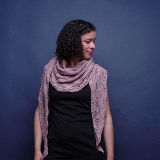 Modèle Châle Leyana - Madlaine