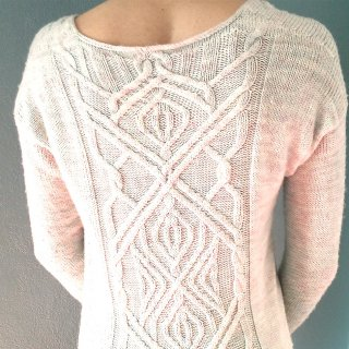 Modèle Pullover The Ropes Of Life par Marion Knits - Madlaine