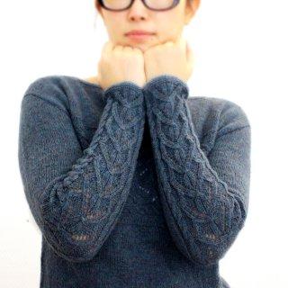 Pull femme Modèle Pull Horizon par Xiaowei Designs