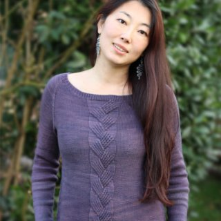 Pull femme Modèle Pull Velvette par Xiaowei Designs