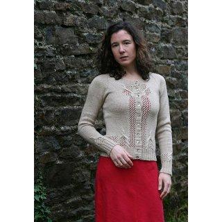 Gilet femme Modèle Cardigan Akoya de Carol Feller