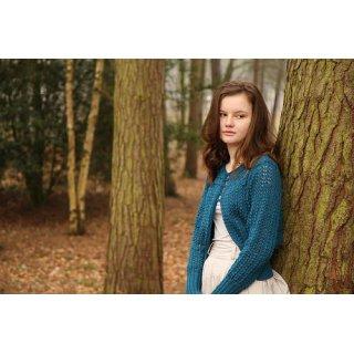 Gilet femme Modèle Cardigan Stonor par Belinda Boaden