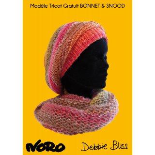 Bonnet femme Modèle snood et bonnet femme Fudji