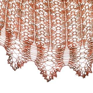 Châle Scheherazade's Tale - Nim Teasdale Designs
