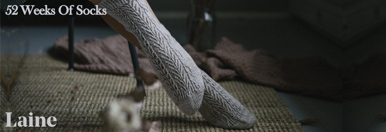 52 Weeks of  Socks par Laine Magazine - madlaine.fr