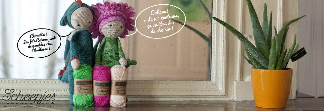 Catona, 100% coton - madlaine.fr