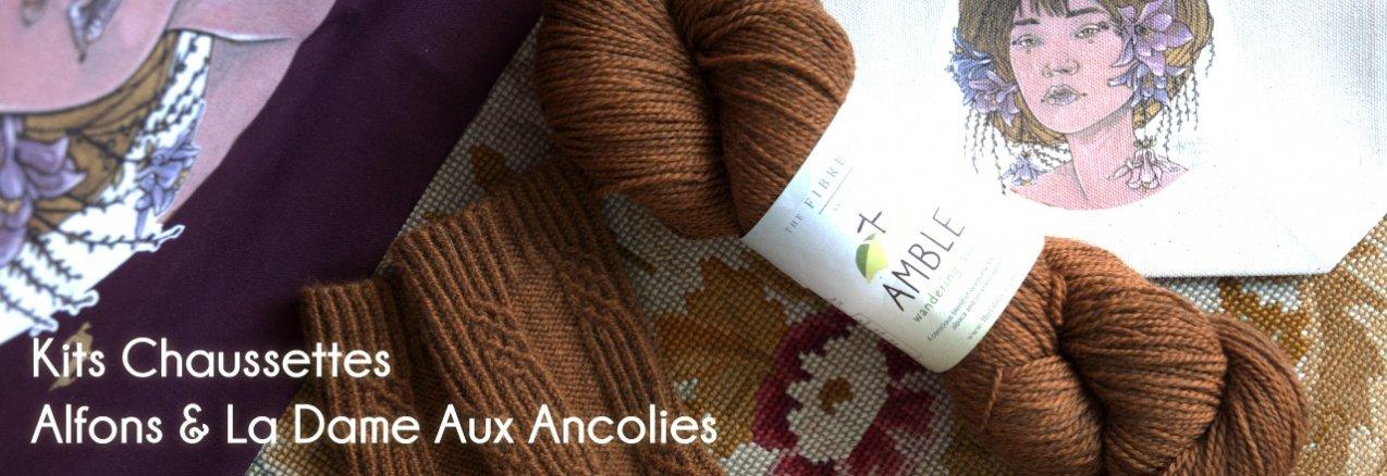 Kit Alfons & La Dame Aux Ancolies - madlaine.fr