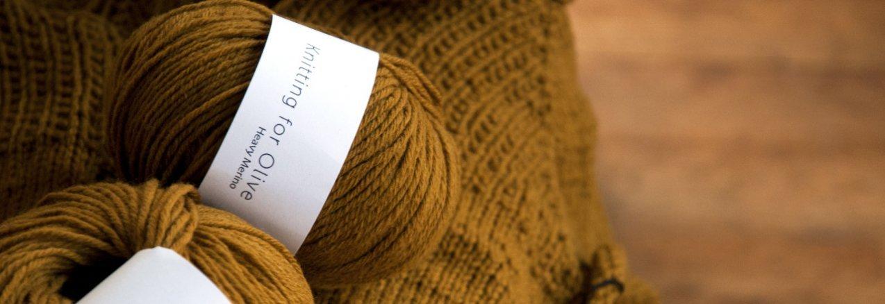 Heavy Merino par Knitting For Olive - madlaine.fr