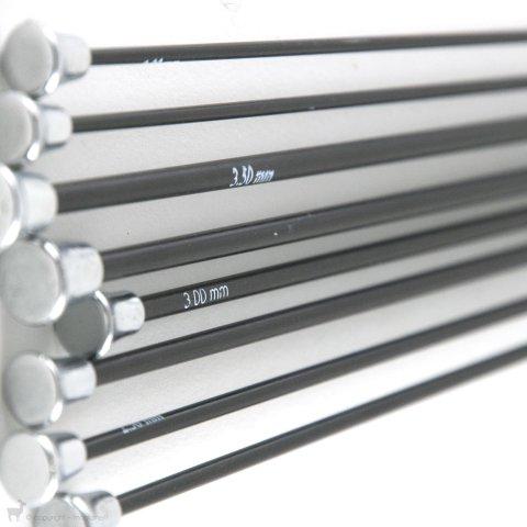 Aiguilles droites Karbonz 35cm - KnitPro