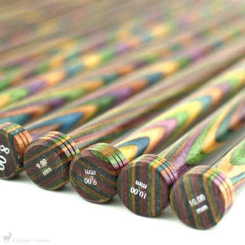 Aiguilles droites Symfonie 40cm - KnitPro