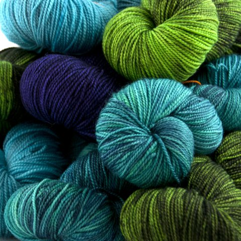 Laine Dragon Sock - Dragonfly Fibers