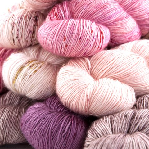 Laine TOT Single Silk - Tôt Le Matin Yarns