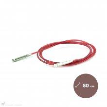 Aiguilles circulaires interchangeables Câble Addi Dentelle pour embouts Addi Click 80cm