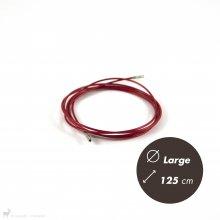 Matériel Chiaogoo Câble Twist Rouge 125cm Large