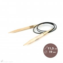 Aiguilles circulaires fixes Aiguilles circulaires 100cm Bamboo 10mm