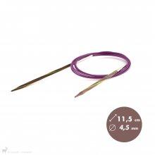 Aiguilles circulaires 150cm Symfonie 4,5mm