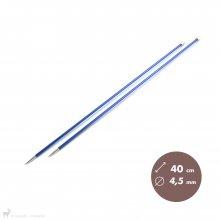 Aiguilles Zing KnitPro 40cm/4,5mm