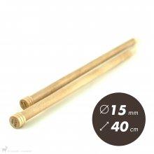 Aiguilles droites Aiguilles Basix KnitPro 40cm / 15mm