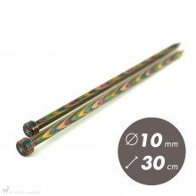 Aiguilles droites Aiguilles Symfonie KnitPro 30cm / 10mm