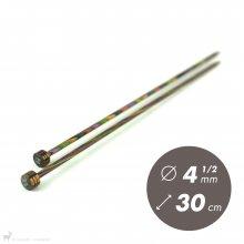 Aiguilles droites Aiguilles Symfonie KnitPro 30cm /4,5mm