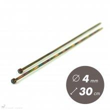 Aiguilles droites Aiguilles Symfonie KnitPro 30cm / 4mm