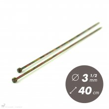 Aiguilles droites Aiguilles Symfonie KnitPro 40cm / 3.5mm