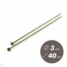 Aiguilles droites Aiguilles Symfonie KnitPro 40cm / 3mm