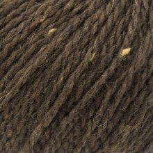 Laine mérinos Super Tweed Brun Coconut 003 Bain 201