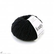 Laine mérinos Super Tweed Noir Charbon 006 Bain 101